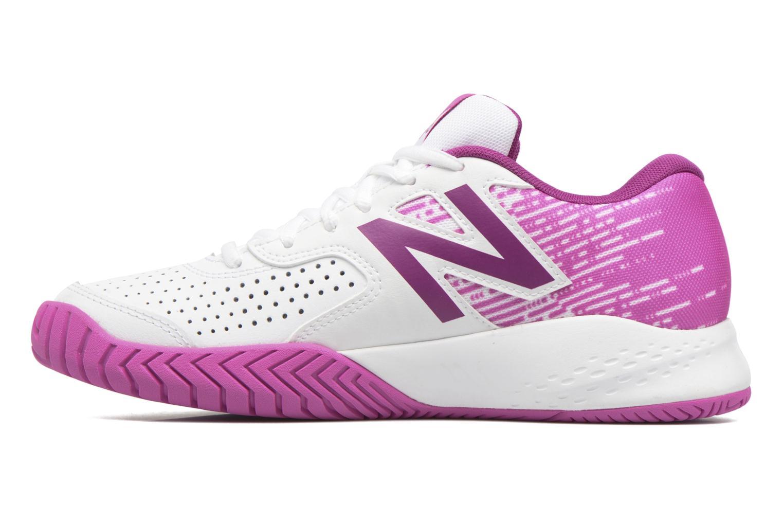 Chaussures de sport New Balance WC696 Blanc vue face