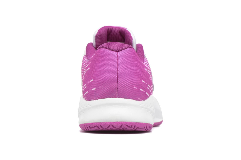 Chaussures de sport New Balance WC696 Blanc vue droite