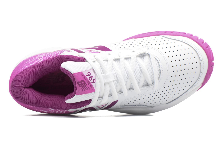 Chaussures de sport New Balance WC696 Blanc vue gauche