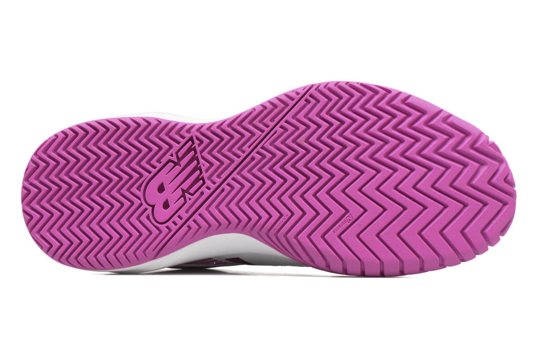 Chaussures de sport New Balance WC696 Blanc vue haut