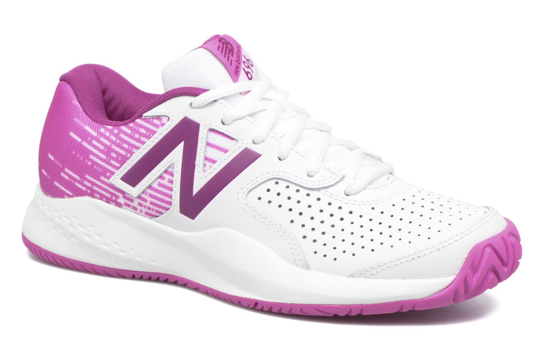 Chaussures de sport New Balance WC696 Blanc vue détail/paire