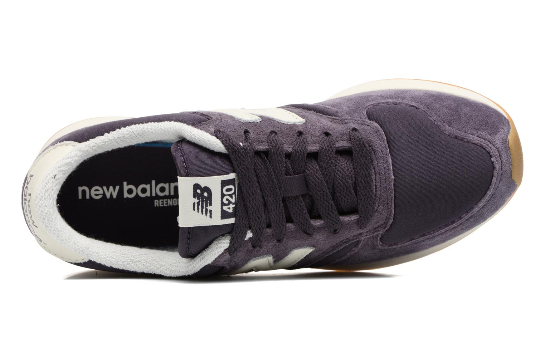 Deportivas New Balance WRL420 Violeta      vista lateral izquierda