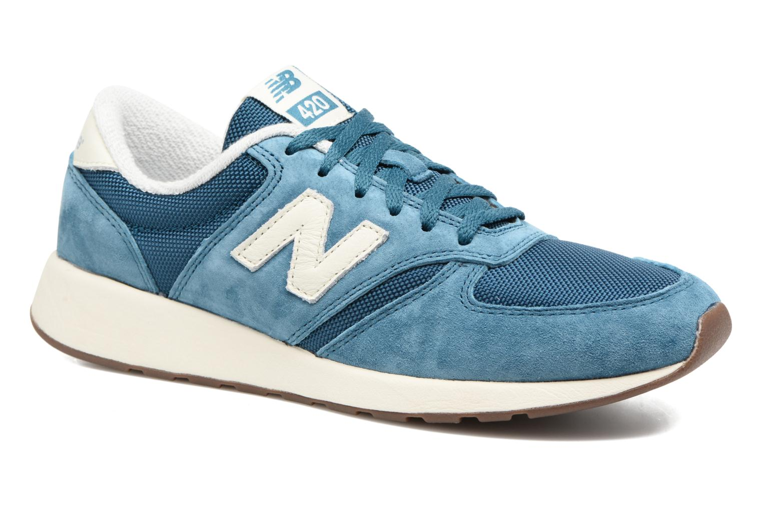 Trainers New Balance WRL420 Blue detailed view/ Pair view
