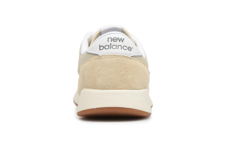 Baskets New Balance WRL420 Beige vue droite