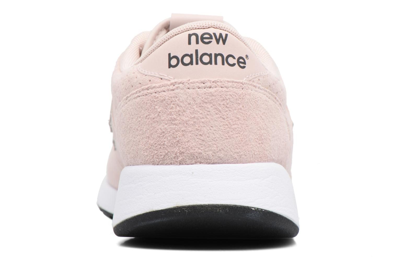 Deportivas New Balance MRL420 W Rosa vista lateral derecha