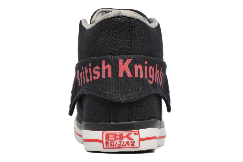 Black/grey British Knights Roco (Noir)