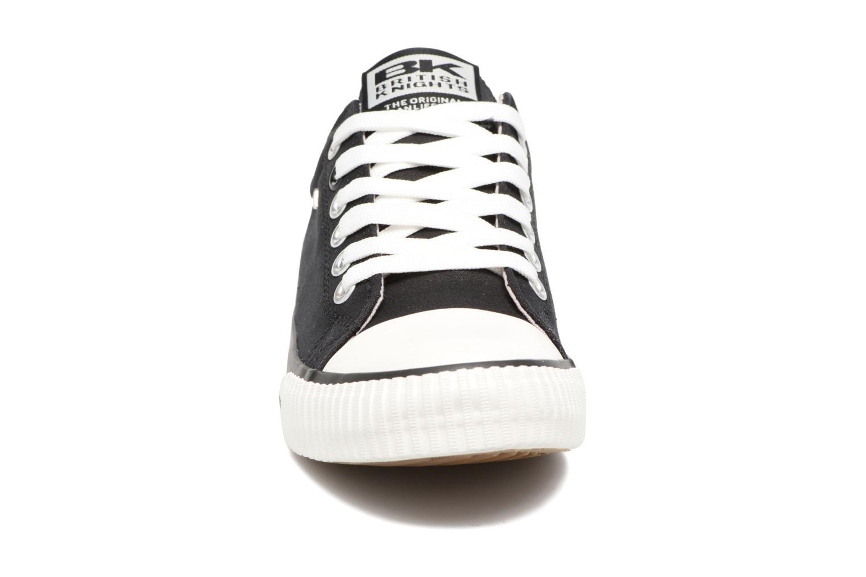 Baskets British Knights Master lo Noir vue portées chaussures