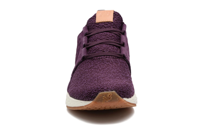 Chaussures de sport New Balance WCRUZ Violet vue portées chaussures