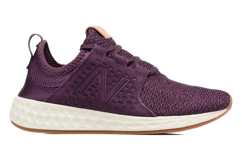 Chaussures de sport New Balance WCRUZ Violet vue derrière