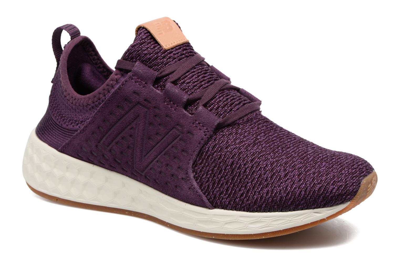 Chaussures de sport New Balance WCRUZ Violet vue détail/paire