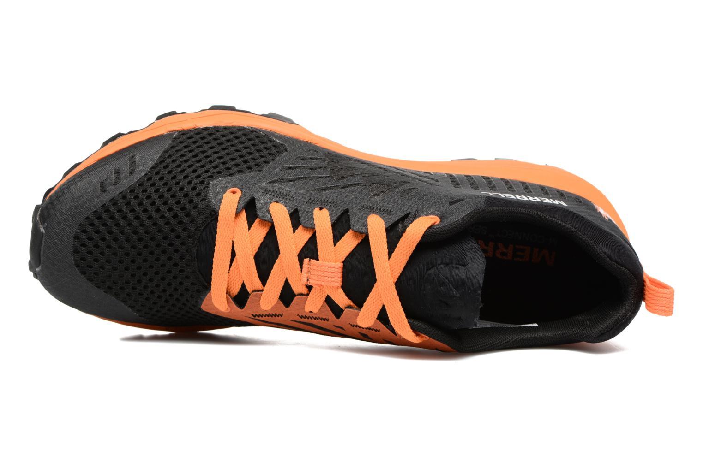 Chaussures de sport Merrell Dexterity Tough Mudder Noir vue gauche