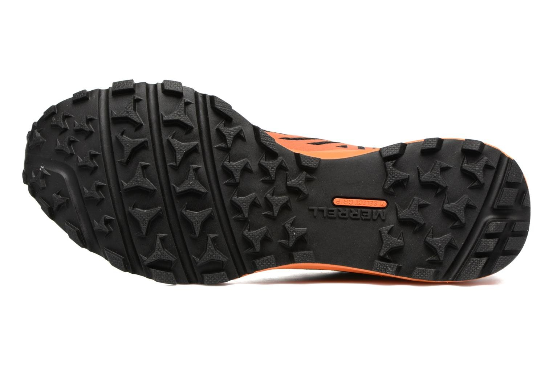 Chaussures de sport Merrell Dexterity Tough Mudder Noir vue haut