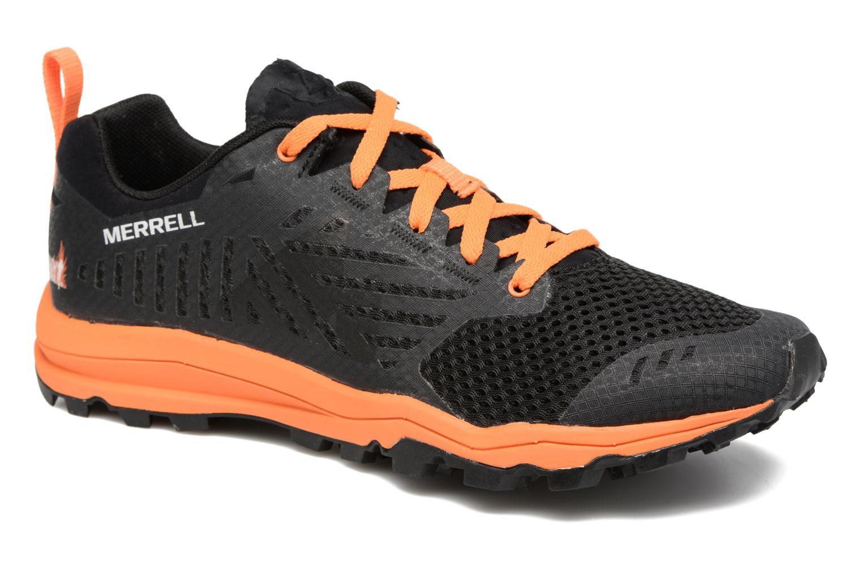 Chaussures de sport Merrell Dexterity Tough Mudder Noir vue détail/paire
