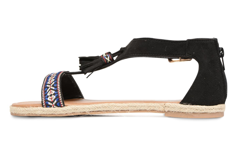 Sandales et nu-pieds Refresh Inka Noir vue face
