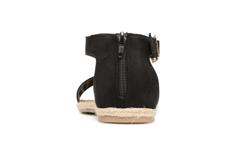 Sandales et nu-pieds Refresh Inka Noir vue droite