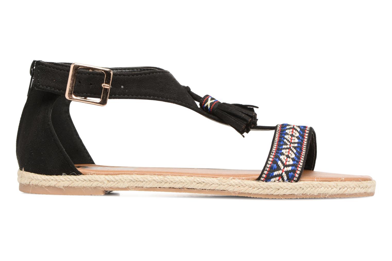 Sandales et nu-pieds Refresh Inka Noir vue derrière