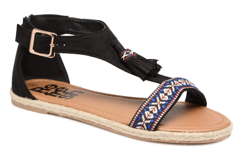 Sandales et nu-pieds Refresh Inka Noir vue détail/paire