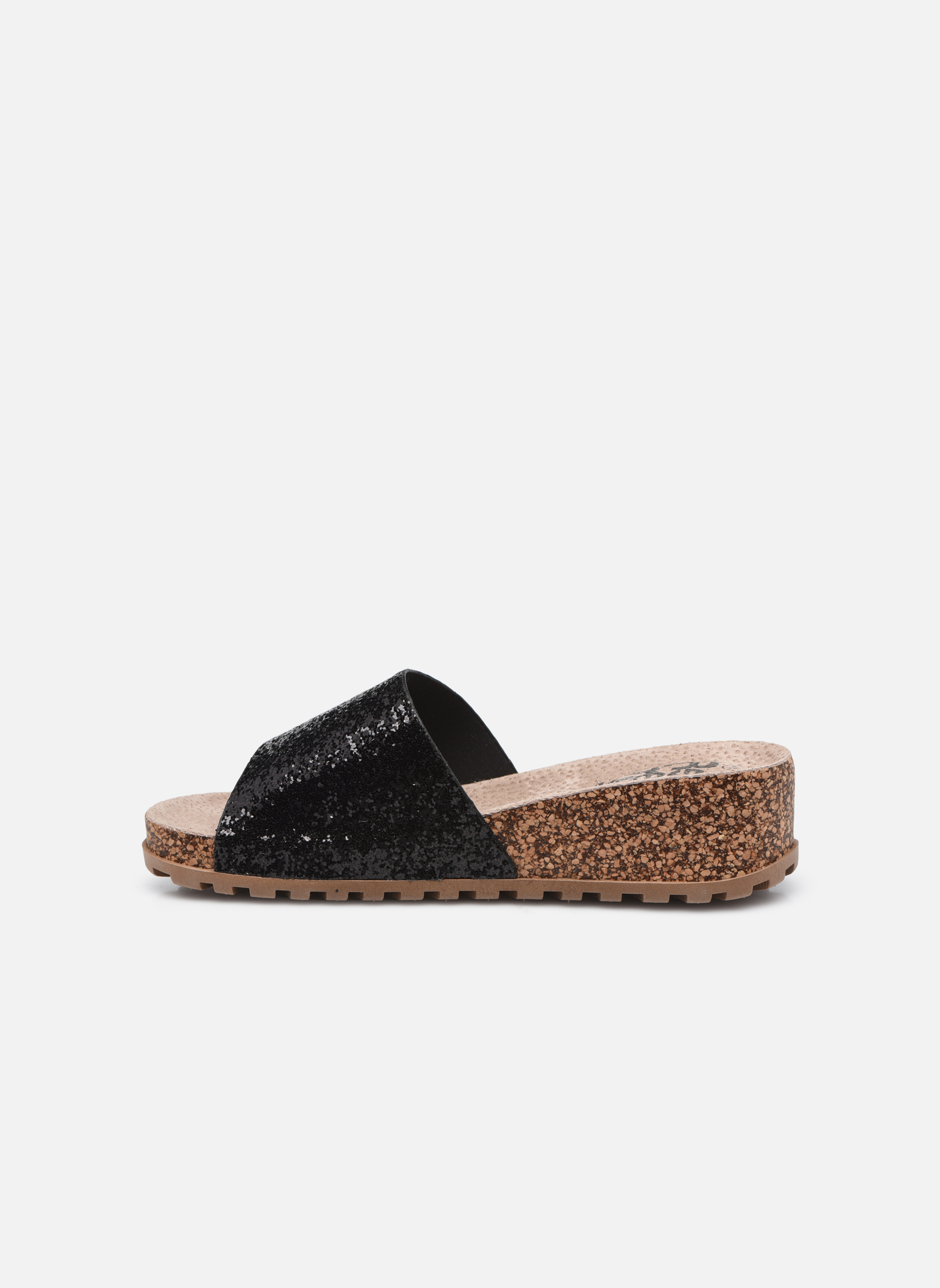 Mules & clogs Refresh Baille Black front view