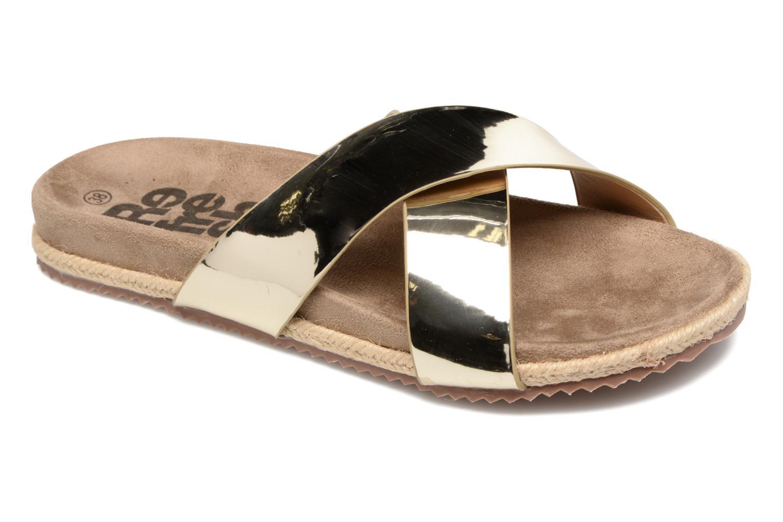 Grandes descuentos últimos zapatos Refresh Qiwin (Oro y bronce) - Zuecos Descuento