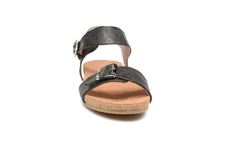 Sandales et nu-pieds Refresh Belk Noir vue portées chaussures