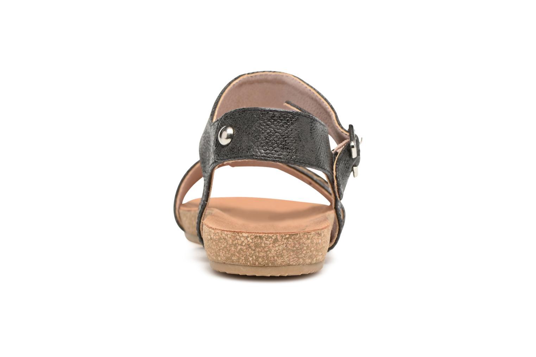 Sandales et nu-pieds Refresh Belk Noir vue droite
