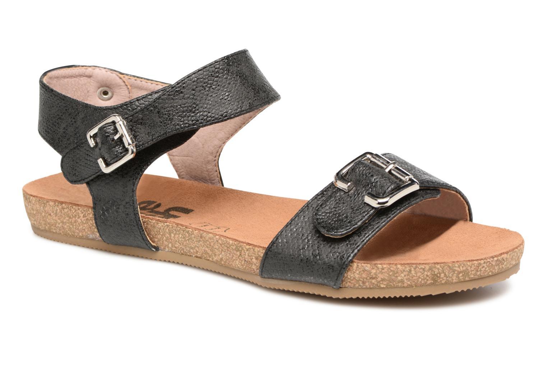 Sandales et nu-pieds Refresh Belk Noir vue détail/paire