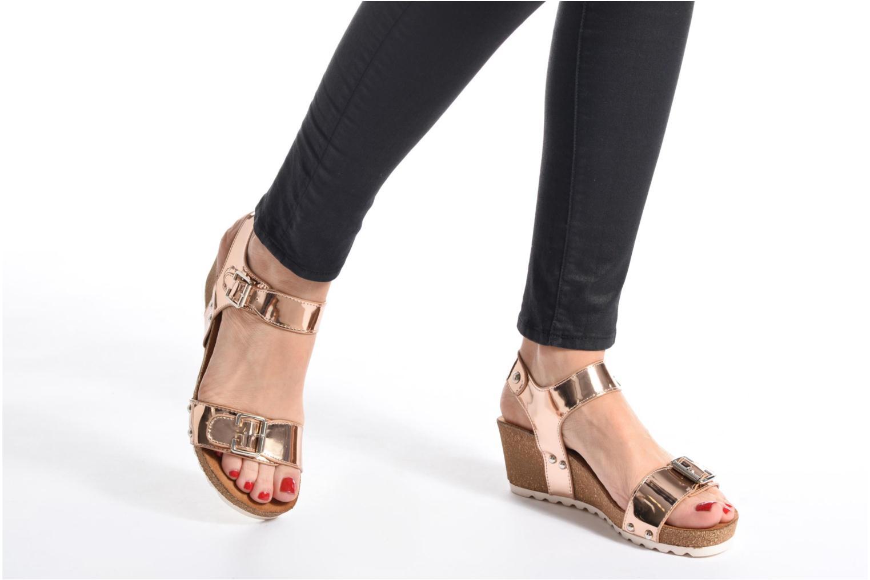 Sandales et nu-pieds Refresh Nach Noir vue bas / vue portée sac