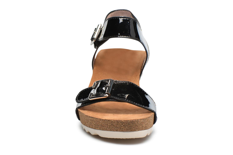 Sandales et nu-pieds Refresh Nach Noir vue portées chaussures