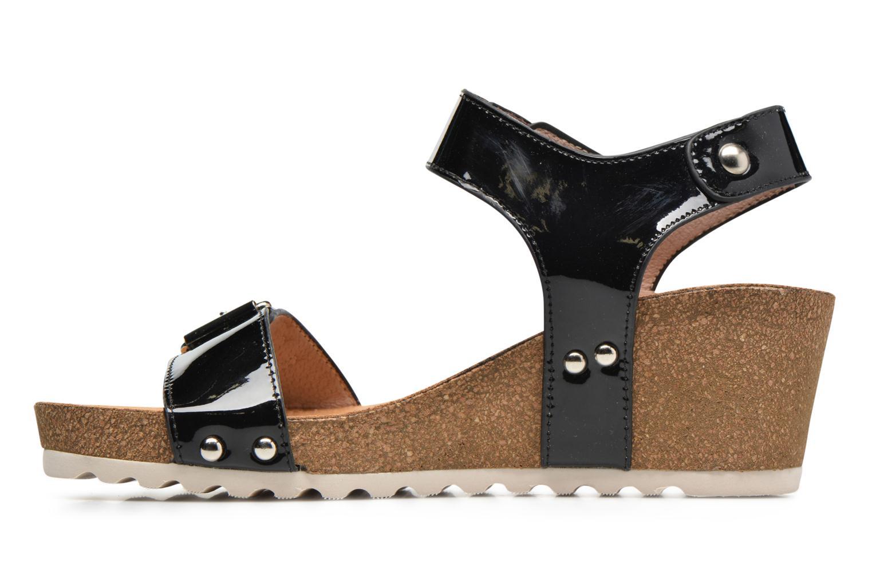 Sandales et nu-pieds Refresh Nach Noir vue face