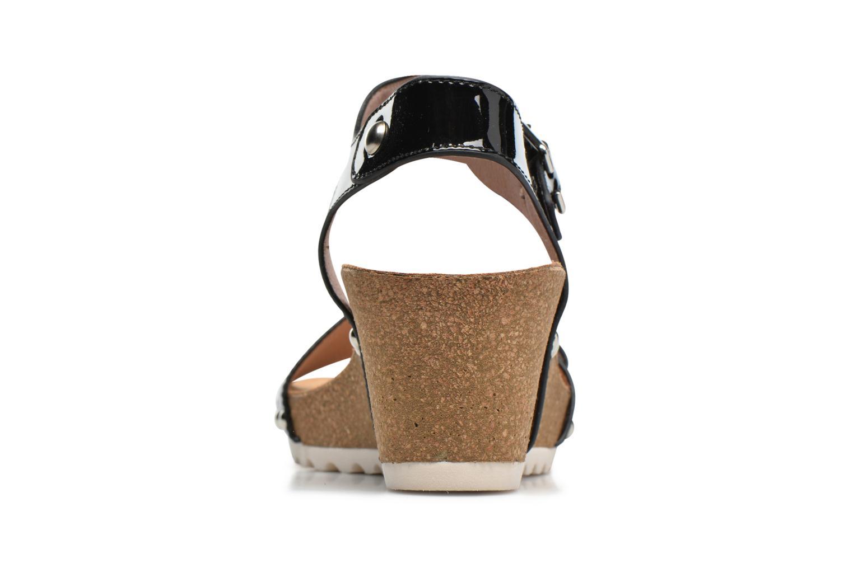 Sandales et nu-pieds Refresh Nach Noir vue droite