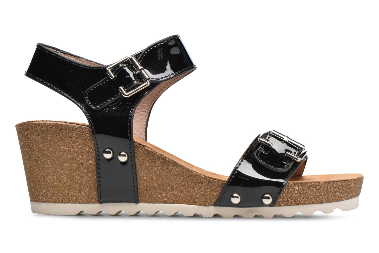 Sandales et nu-pieds Refresh Nach Noir vue derrière
