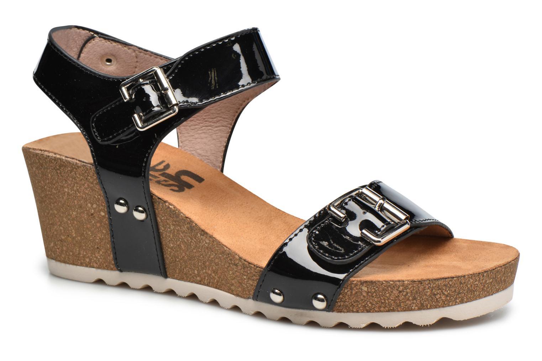 Sandales et nu-pieds Refresh Nach Noir vue détail/paire
