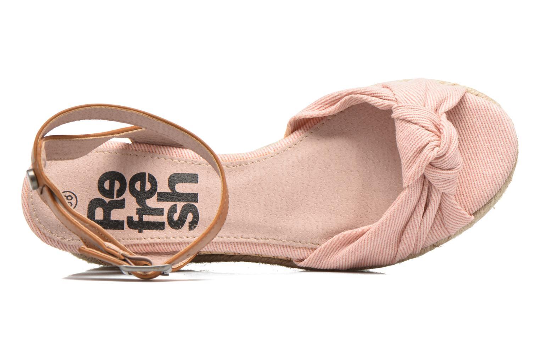 Sandaler Refresh Rébu Pink se fra venstre