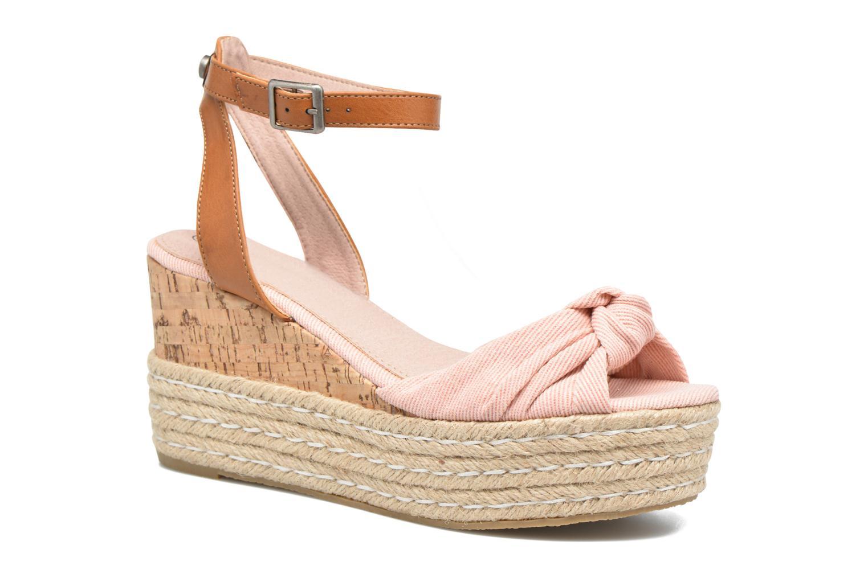 Sandals Refresh Rébu Pink detailed view/ Pair view