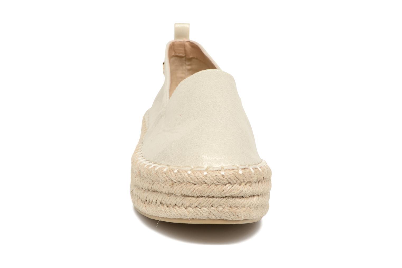 Espadrilles Refresh Sket Or et bronze vue portées chaussures
