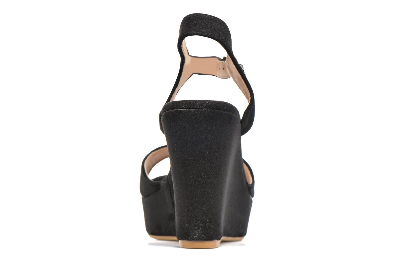 Sandales et nu-pieds Refresh Mack Noir vue droite