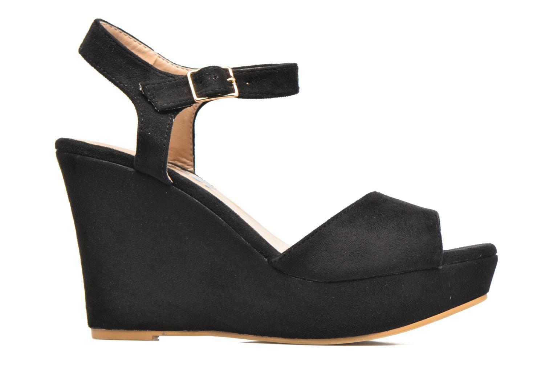 Sandalen Refresh Mack Zwart achterkant