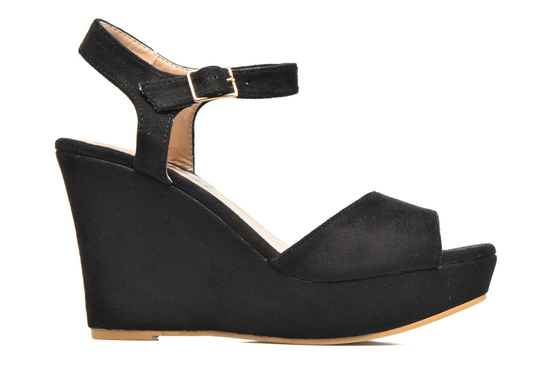 Sandales et nu-pieds Refresh Mack Noir vue derrière