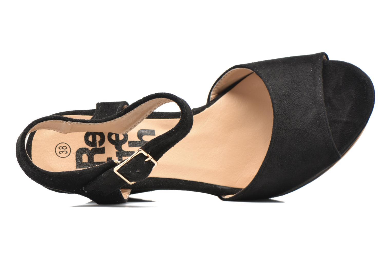 Sandales et nu-pieds Refresh Mack Noir vue gauche