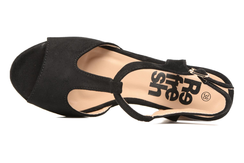 Sandales et nu-pieds Refresh Pero Noir vue gauche