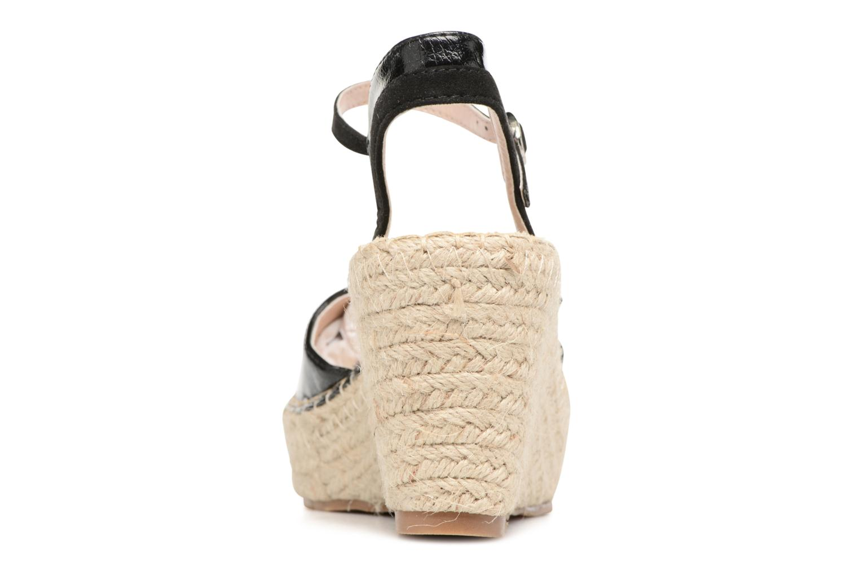 Sandali e scarpe aperte Refresh Majan Nero immagine destra