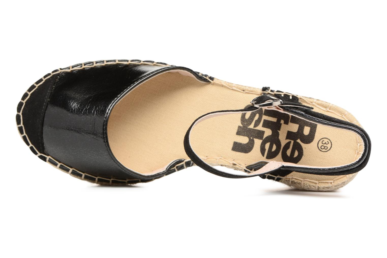 Sandali e scarpe aperte Refresh Majan Nero immagine sinistra