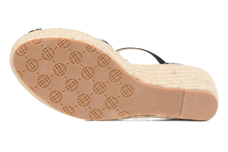 Sandali e scarpe aperte Refresh Majan Nero immagine dall'alto