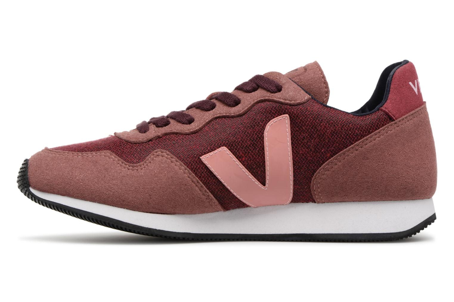 Trainers Veja Sdu Burgundy front view