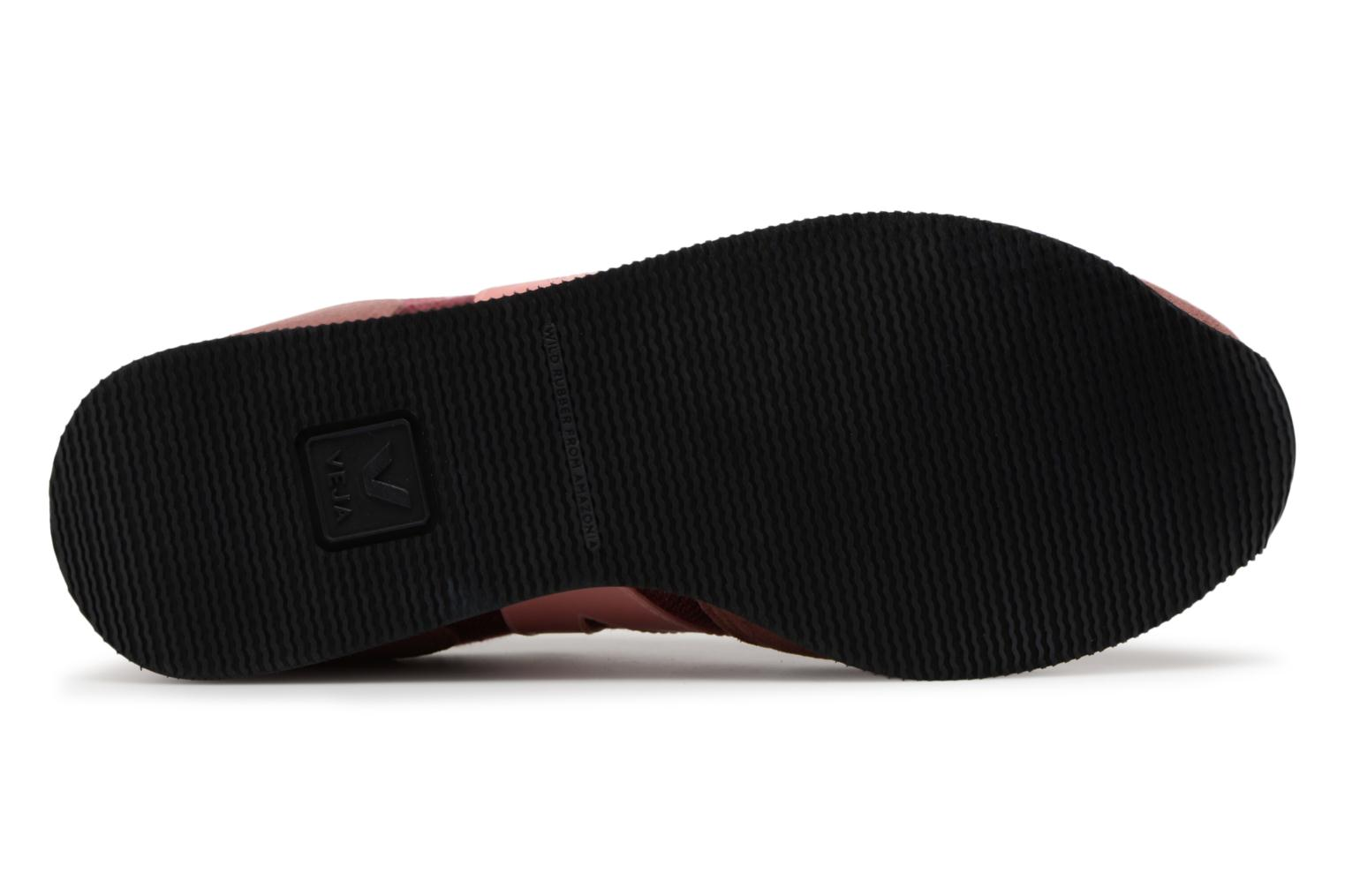 Trainers Veja Sdu Burgundy view from above