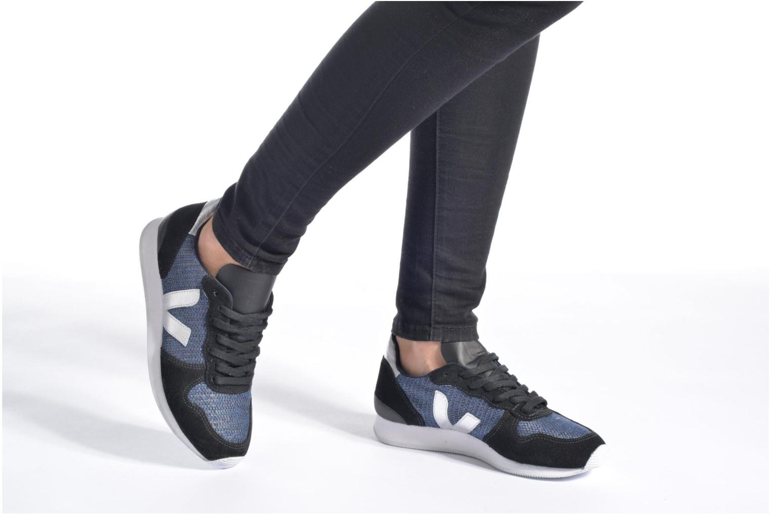 Baskets Veja Holiday Low Top Bleu vue bas / vue portée sac