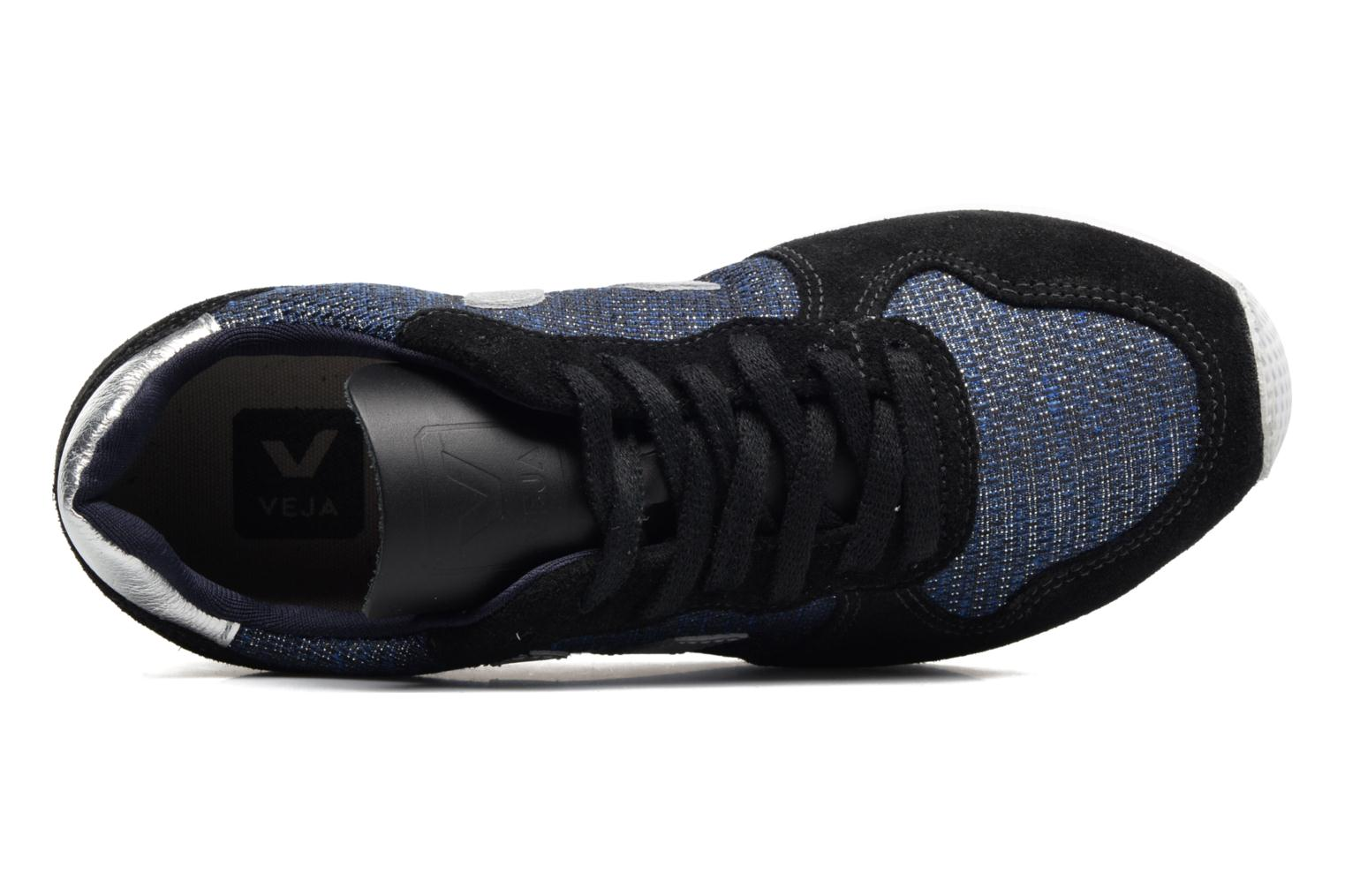 Baskets Veja Holiday Low Top Bleu vue gauche