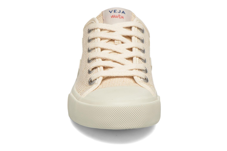 Baskets Veja Wata Rose vue portées chaussures