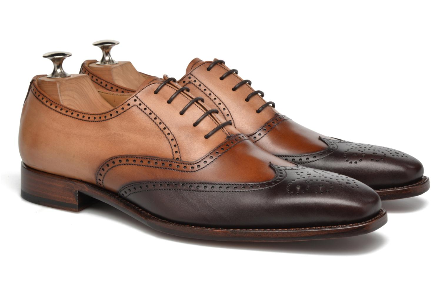 Chaussures à lacets Marvin&Co Luxe Walton-on - Cousu Goodyear Marron vue 3/4