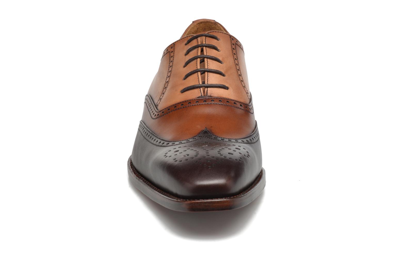 Chaussures à lacets Marvin&Co Luxe Walton-on - Cousu Goodyear Marron vue portées chaussures